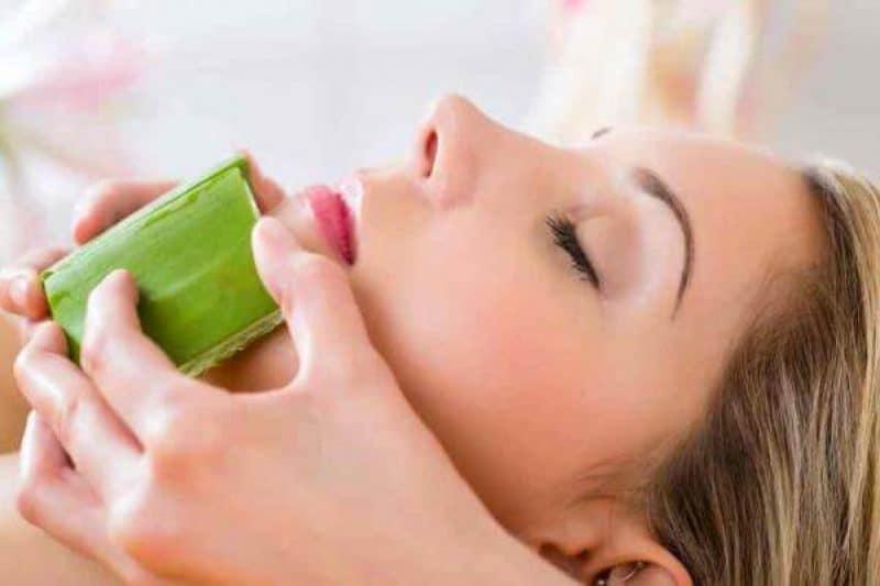 aloe vera para manchas de acne