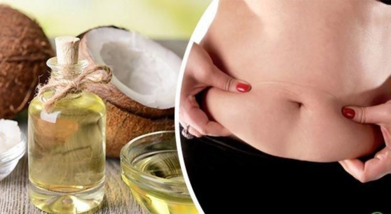cómo tomar aceite de coco para adelgazar