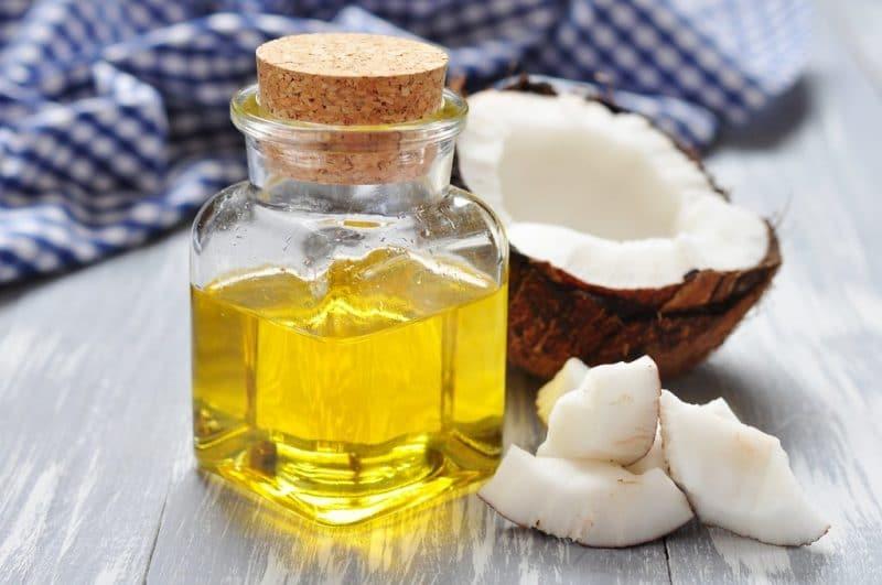 información nutricional del aceite de coco