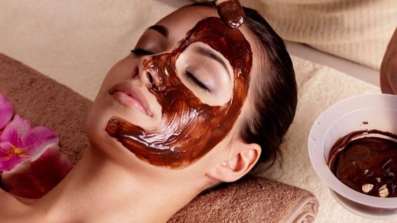 mascarilla de chocolate para el cuerpo