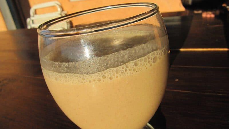 bebidas preparadas con maca