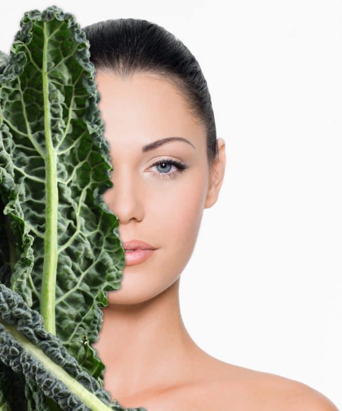 beneficios del kale para la piel