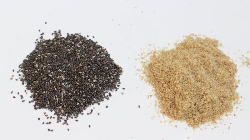 cómo mezclar semillas de linaza