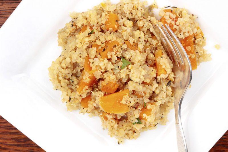 como preparar quinoa con verduras