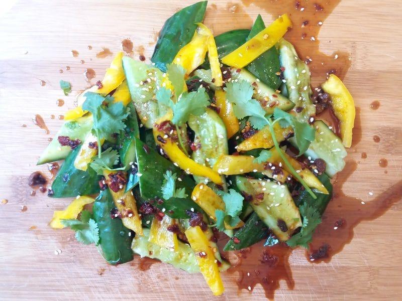 ensaladas con semillas de chia