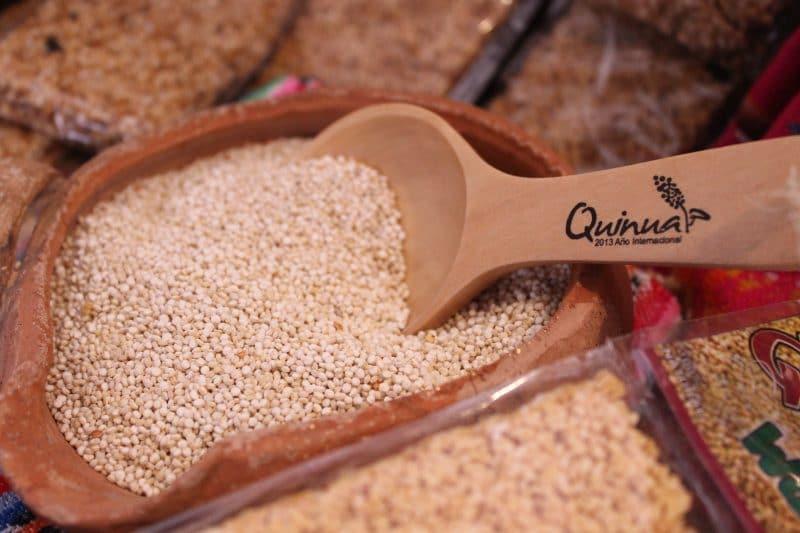 nutrientes de la quinoa