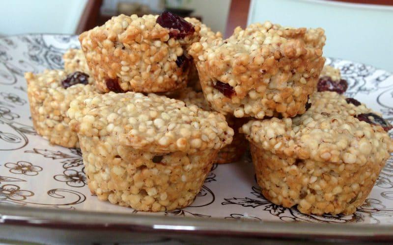 pastel de quinoa dulce