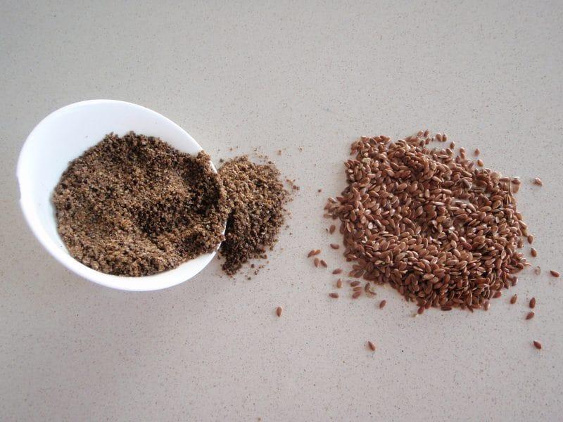 semillas de chia molidas