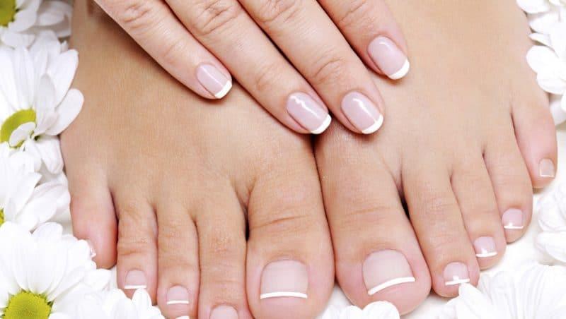 semillas de lino para las uñas
